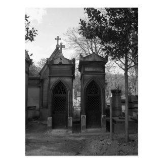 Gothic crypts postcard