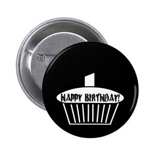 Gothic Cupcake 2 Inch Round Button