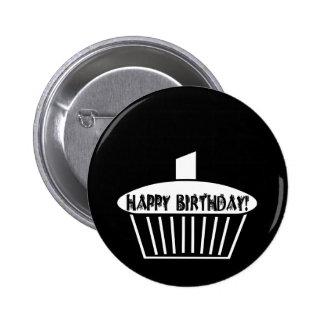 Gothic Cupcake Pinback Button