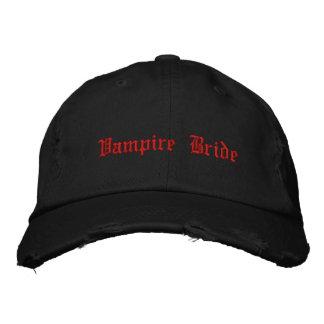 Gothic cute Vampire Bride Baseball Cap