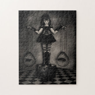 Gothic Dark Doll Jigsaw Puzzle