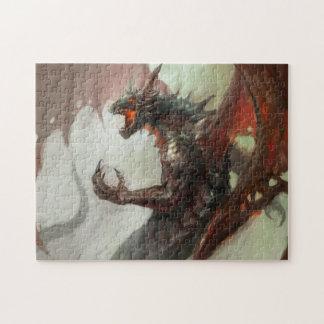 Gothic Dark Dragon Puzzle