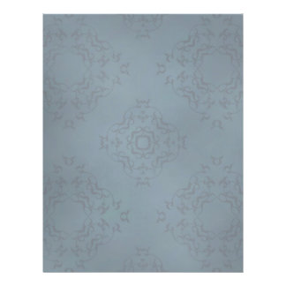 Gothic dirty damask blue flyer