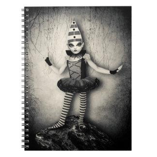 Gothic Doll Custom Notebook