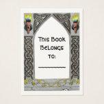 Gothic Door bookplate