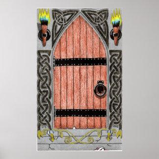 Gothic Door (color) print