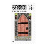 Gothic Door (color) stamp