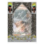 Gothic Door Frame card