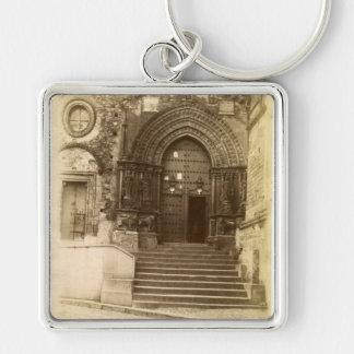Gothic Door Key Chain