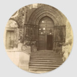 Gothic Door Stickers