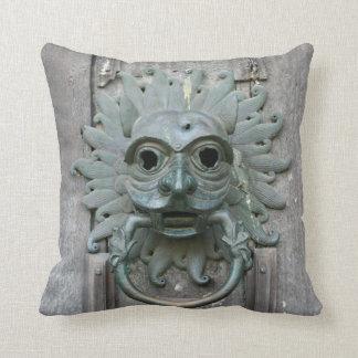 Gothic Doorknob Throw Pillows