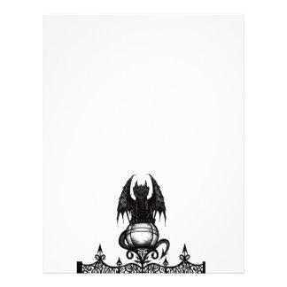 Gothic Dragon Letterhead