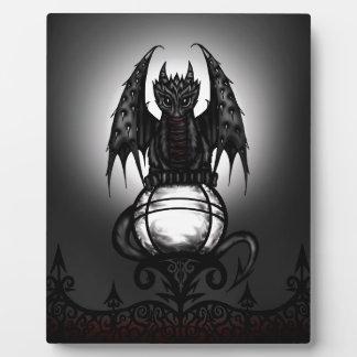 Gothic Dragon Plaque