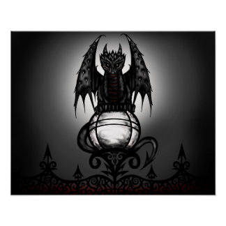 Gothic Dragon poster