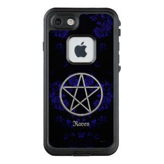 Gothic Eternal Pentacle Blue LifeProof FRĒ iPhone 7 Case