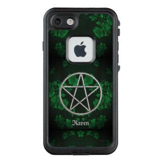 Gothic Eternal Pentacle Green LifeProof FRĒ iPhone 7 Case