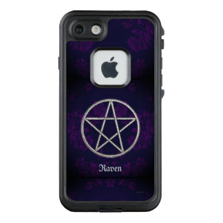 Gothic Eternal Pentacle Purple LifeProof FRĒ iPhone 7 Case