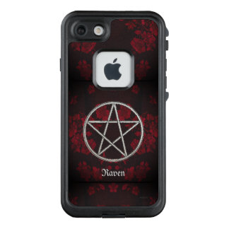 Gothic Eternal Pentacle Red LifeProof FRĒ iPhone 7 Case