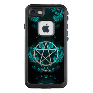 Gothic Eternal Pentacle Turquoise LifeProof FRĒ iPhone 7 Case