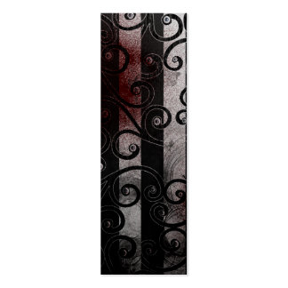 gothic eyeball bookmark Double-Sided mini business cards (Pack of 20)