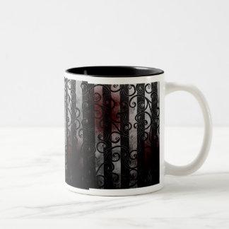 gothic eyeball mug