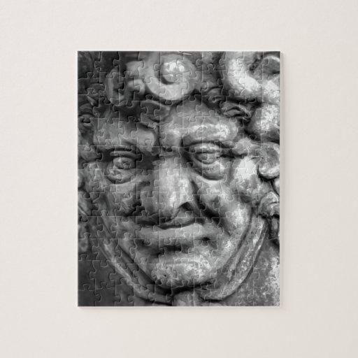 Gothic face puzzles