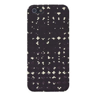 Gothic Faded Black Grunge Vintage Cross Pattern Case For iPhone 5