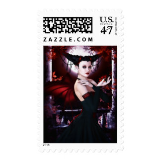 Gothic Fae Magnificence Postage
