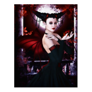 Gothic Fae Magnificence Postcard