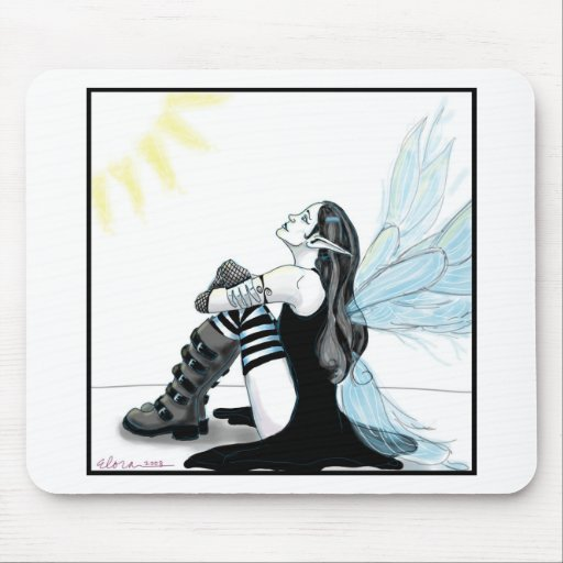 Gothic Fairy 3 Mouse Pad
