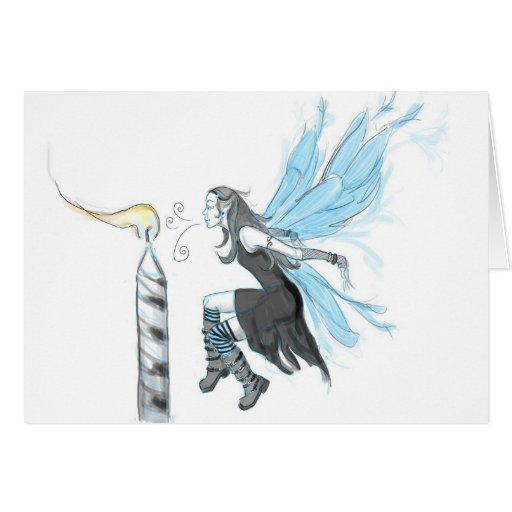 Gothic Fairy 4 Greeting Cards