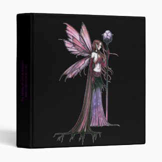 Gothic Fairy Avery Binder by Molly Harrison