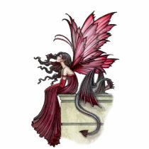 Gothic Fairy Dragon Photo Sculpture