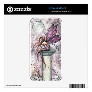 Gothic Fairy Fantasy Art iPhone 4S Skin