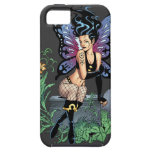 Gothic Fairy Grave Sitting with Tears by Al Rio iPhone 5 Covers