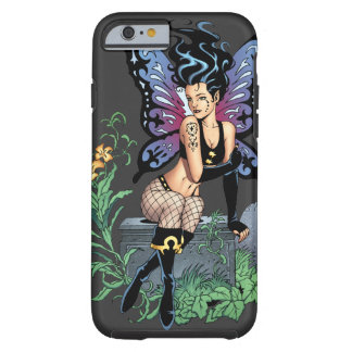 Gothic Fairy Grave Sitting with Tears by Al Rio iPhone 6 Case