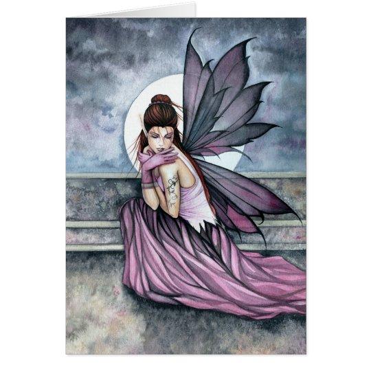 Gothic Fairy Moon Card by Molly Harrison