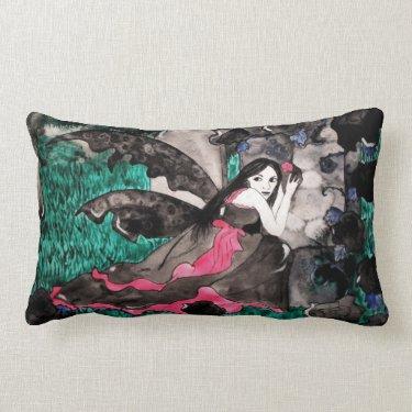 Gothic fairy Pillow