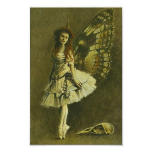 Gothic Fairy Poster