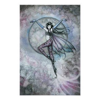 Gothic Fairy Poster Print