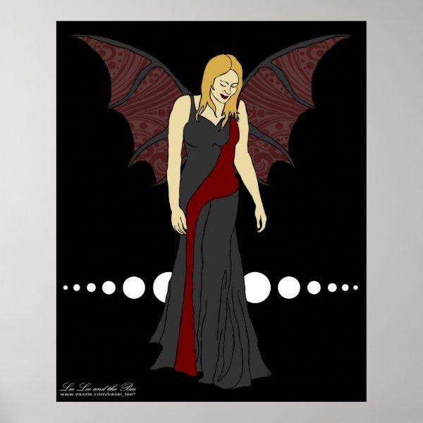 Gothic Fairy, print print