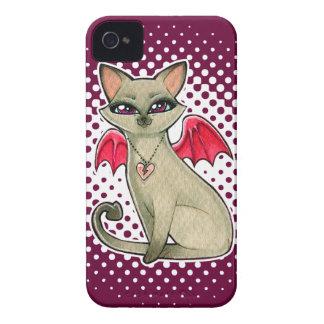 Gothic Fairy Siamese Cat iPhone 4/4S Case iPhone 4 Cases