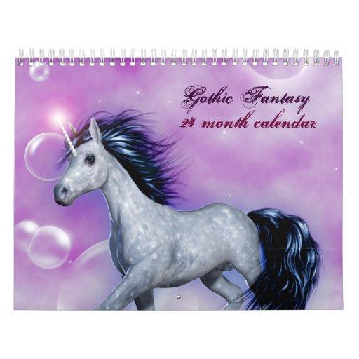 Gothic Fantasy 2012 24 Month Calendar