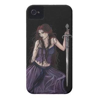 Gothic Fantasy Morgan Le Fay Case-Mate iPhone 4 Case