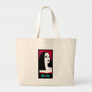 GOTHIC FASHION LARGE TOTE BAG