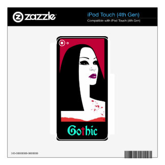 GOTHIC FASHION SKINS FOR iPod TOUCH 4G
