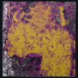 """Gothic Floral Style Purple and Gold Table Napkins<br><div class=""""desc"""">Gothic Floral Style Purple and Gold Table Napkins</div>"""