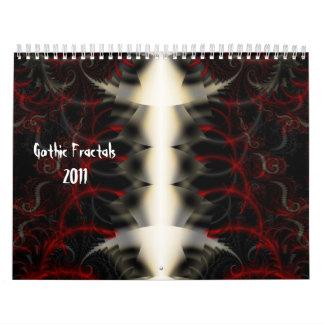 Gothic Fractals 2011 Calendar