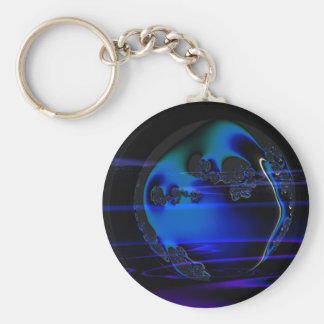 Gothic Fractals Earthly Plane keychain