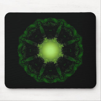 Gothic Fractals Glow In The Dark mousepad
